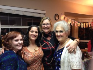 Lindsay, Maria Jose, Cindy B and Beverly